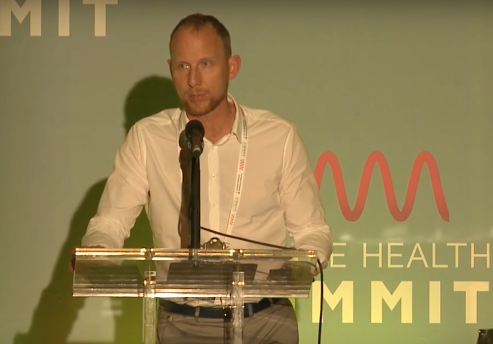 UnPlug speaking at The Future Health Summit.  To enquire about upcoming public speaking events please email hello@unplughq.com.